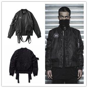 MA1 Ordu Hava Kuvvetleri Pilot Fly Taktik Ceket Askeri Havadan Uçuş Bombacı Ceket Erkekler Kış Sıcak siyah Motosiklet Aşağı Ceket