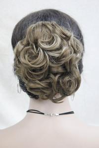 Spedizione gratuita bella moda Hivision sintetico corta sintetica dei capelli coda di cavallo delle donne di estensione 11 colore selezionare