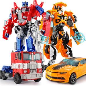 Top Vente 18.5cm New Arrival Big classique en plastique d'action Cars Robot Jouet Figures éducation jouets pour enfants Cadeaux en gros