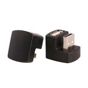 ZJT49 Nero da 180 gradi USB Maschio a Femmina Extension Extender M / F Cavo Connettore per 3G Router Car