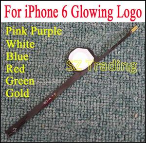 6G leuchtende leuchtende LED leuchten transparenter Logo-Umb.-Platten-Ausrüstungs-rückseitige Abdeckung für iphone 6 6G 4,7 Zoll DHL geben Verschiffen frei