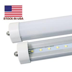 LED Tube Lights 8ft 6500K 45W Single Pin FA8 LED Tubes T8 8 ft Fixture 8 feeet LED Fluorescent Lamp AC85-265V