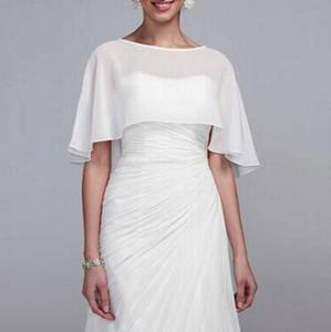 Mariage en mousseline de soie pas cher Wraps de mariée Wraps / Vestes Simple Plus la taille mariage Accessoires de mariage Bolero