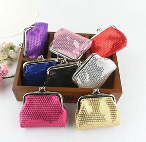 Мода Hot Vintage мини женщины девушка блестка блесток портмоне ключевой держатель кошелек hasp небольшие изменения сумка клатч Xmas подарок