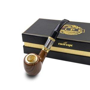 클래식 향수 파이프 618 전자 담배 키트 E 파이프 618 목재 바디 2.5ml 색소 모양의 원자로 적합 18350 배터리 e-cig 키트