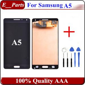 Samsung Galaxy A5 Için 1 Adet LCD A5000 A500 LCD Ekran Dokunmatik Ekran Digitizer Meclisi Değiştirme ile Açık Araçları Ile