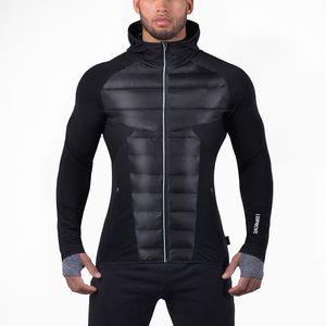 2018 New Winter Warm Hoodies Palestre Felpe con cappuccio Uomo e donna Abbigliamento sportivo generale Muscoli Brothers Giacca da uomo in cotone casual Tight Outdoor