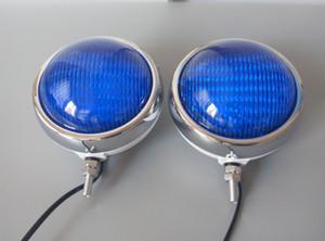 spie auto strobo DC12V 13W LED, luce di emergenza moto per la polizia del fuoco ambulanza, impermeabili, 2pcs / set.