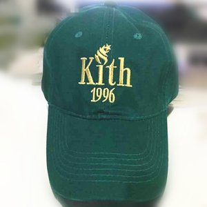 Mais novo 2017 Kith 1996 pai chapéu KITH Logotipo Clássico algodão snapback boné de beisebol Ronnie Fieg caps casquette selvagem caps UZI Gun chapéus gorras