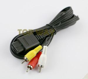 도매 RCA 오디오 비디오 코드 AV 케이블 AV 케이블 N64 용 GameCube에 대한 Snes