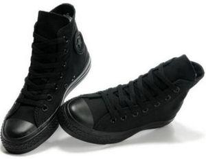 Drop Shipping Brand New 13 Couleurs Toutes Les Taille 35-46 High Top Sports étoiles Bas Top Classique Toile Chaussures Sneakers Hommes Souliers Pour Femmes