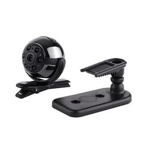 360 ° Drehbare Mini DV SQ9 Full HD 1080 P Mini Kamera 6 LED Nachtsicht Sicherheit Überwachung CCTV Cam Auto DVR Sport DV 50pcs