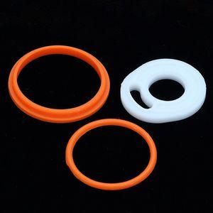 TFV8 O-Ringe passen TFV8 Zerstäuber Volle Kit Silikon O-Ring Hohe Qualität für TFV8 Schwarz SS Top Nachfüllbehälter Dhl-frei