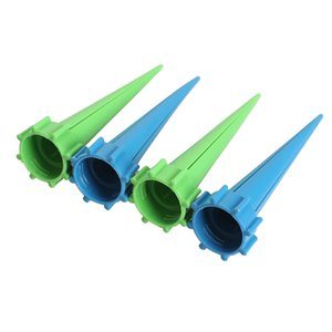 4 adet / grup otomatik Bahçe koni Spike sulama bitki Çiçek Suluklar şişe Sulama sistemi boyutu 13.5 cm * 2.8 cm