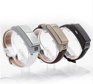 A9 Inteligente Pulseira Talk tand Banda fone de Ouvido Bluetooth pulseira com Pedômetro Música Monitor de Sono para Android IOS pk U assistir U20