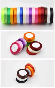 decoraciones de la boda centros de mesa suministros de la boda favores de la fiesta de cumpleaños arco de la cinta de raso para los accesorios de la boda embalaje de regalo 1.5cm * 25Y