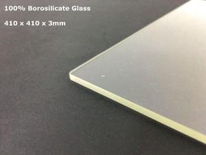 Бесплатная доставка Formbot T Rex 2 Боросиликатное стекло 410 x 410 3 мм 400 x 400 3 мм Толщина для 3d принтера Formbot T Rex Build Plate Glass