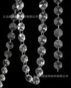 Tranparent en plastique perle mariage Set accessoires mise en page Arch route référence Crystal Road plomb perle rideau perle chaîne perles de mariage marchandises