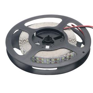Ice Blue 240LEDs / m LED Strip 2835 DC12V 1200Leds IP20 No impermeable Flexible LED Light Doble fila SMD2835 LED Strip 5m / lot