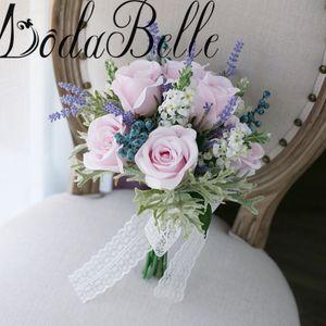 modabelle Buque De Noiva 신부 들러리 꽃 꽃다발 Casamento Buque 인공 결혼식 꽃다발 신부 꽃 꽃다발 2018