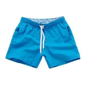 2017 Sommer Mens Beach Shorts Candy Farben Marke gedruckt Boardshort Bermuda Masculina heißer Verkauf Asien Größe S-2XL