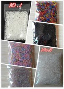 Au sujet de 1000 pcs / sac (petit paquet) Enfant Bébé TPU Porte-Cheveux En Caoutchouc Bandes Élastiques Fille Tie Gomme Cheveux Accessoires