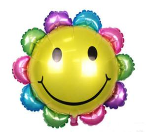 Große Sonnenblume Ballon Schöne Hochzeit Dekoration Geburtstagsgeschenk Aluminiumfolie Wasserstoff Ballon Kinder Gefälligkeiten Spielzeug