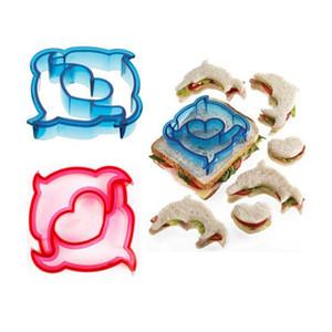 Dinosaur cane a forma di farfalla di cottura della torta muffa del pane Cutters Sandwich Muffa Toast Stampi Cake Maker