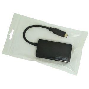 USB 3.1 Type-C до 4 портов USB3.0 HUB high power supply system множественный адаптер для Macbook и любого устройства с портом USB Type C