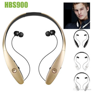 HBS-900 HBS 900 Wireless Sport Neckband Headset In-ear Headphone Bluetooth Stereo Earphones Headsets For LG HBS-900 iPhone X 8 Samsung S8