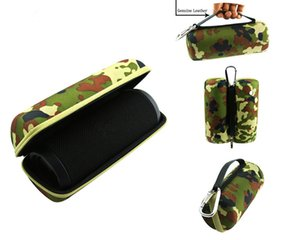 DHL livraison gratuite Carry Voyage Housse Etui de protection pour Bluetooth Haut-Parleur Camo Noir disponible