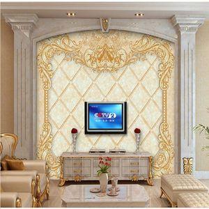 пользовательские Euporean картины фрески обои 3d стены бумажные росписи для гостиной papel de parede 3D-обои для фото