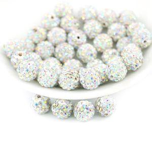 Shambala حجر الراين الخرز للملابس الجاهزة Shambala Ball Beads نوعية جيدة حار بيع IB00116- كريستال AB