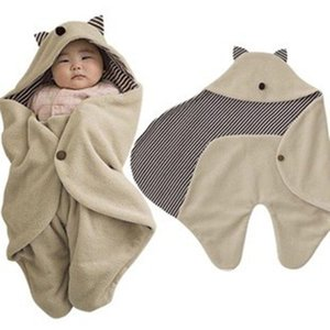 AbaoDo горячей продажи Гремлины новые одеяла младенца флиса хлопка младенца спальный мешок высокого качества новорожденный swadling