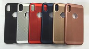 Diforate Nouvelle Arrivée De Luxe Ultra Léger Mince Pour iPhone 8 7 Plus, Étui Cool Respirant Coque Arrière De Téléphone Pour Apple iPhone X