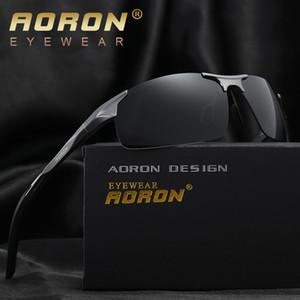 Großhandels-Aoron Aluminium Magnesium polarisierte Brille Driving Brille Mann Sonnenbrille Zubehör Male Brillen 2017