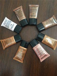 NYX Marca Fondotinta Liquido Viso Concealer Makeup Nato Per Illuminare Illuminatore Liquido BB Cream Make Up Polvere Cosmetici Cura Della Pelle 18 ml DHL libero