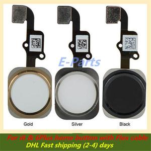 100% migliore qualità originale nuovo per iPhone 6 6Plus pulsante Home con parti di ricambio di ricambio ID cavo flex (trasporto veloce DHL veloce) !!!