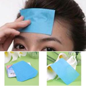 50pcs papiers mouchoirs pro puissant maquillage huile de nettoyage absorbant papier pour le visage absorbent buvard nettoyant pour le visage outils pour le visage