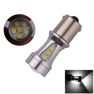 1156 BA15S P21W S25 18 LED 3030 칩 전구 램프 백색 자동차 자동차 회전 신호등 차등 램프 브레이크 라이트