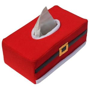 Vente en gros - Boîte à mouchoirs Rectangle Porte papier Noël Décoration de la maison Boîte à serviettes