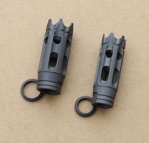 Оптовая 223 308 стальной дульный тормоз 1/2-28 5/8-24 шайба толкотни потока Свободная