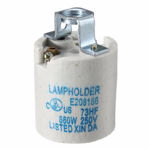 E27 En Céramique Lampe Support Lumière Socket Base Accessoire Bouchon À Vis Adaptateur Convertisseur Pour Rétro Vintage Edison Ampoule Bases de la Lampe