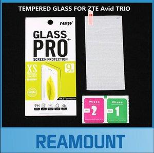 100 stücke Großhandel Für ZTE Avid TRIO Gehärtetem Glas Displayschutzfolie für ZTE Avid TRIO mit Kleinkasten kostenloser versand