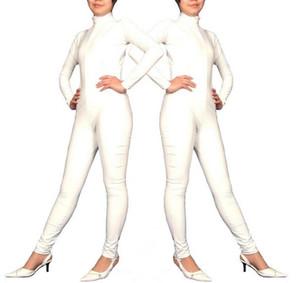 Cosplay Costumes d'Halloween vêtements en cuir PVC blanc combinaison isothermique sexy sous-vêtements fun jeu 7colors peuvent choisir