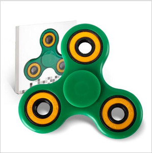 Verde Spinner Fidget Brinquedo Ultra rápido silencioso Rolamentos De Cerâmica EDC anti-stress Foco Brinquedos Mão Spinner para Kid Adulto YH796-3