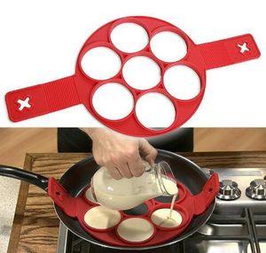 2017 Flippin фантастический быстрый простой способ сделать идеальный блины антипригарным блин чайник яйцо кольцо чайник кухня выпечки формы