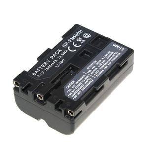 고품질 배터리 NP-FM500H NP FM500H 소니 용 충전식 카메라 배터리 A57 A65 A77 A99 A350 A550 A580 A900
