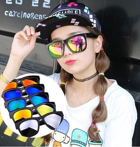 New Arrivals Fashion Women's Sunglasses Dazzle colour Mirror Plastic Frame Frog mirror Sun Glasses Free Shipping CA166