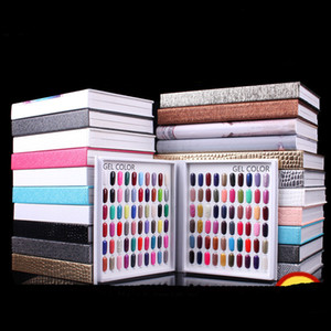 نموذج المهنية 216 الألوان مسمار هلام البولندية اللون عرض بطاقة كتاب بطاقة مخصصة أدوات الرسم البياني مسمار الفن مع 226 الأظافر الزائفة
